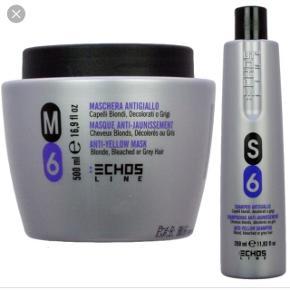 Sælger både hårkur og shampoo - samlet pris 350kr. Aldrig brugt. NP samlet 639kr Gode produkter, som fjerner det gule i håret