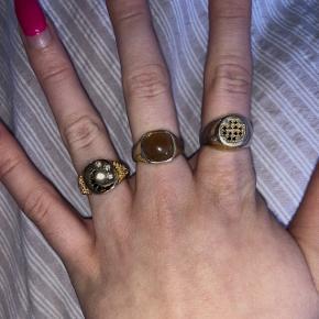 Sælger de 3 ringe fra pernille corydon, NA-KD, asos