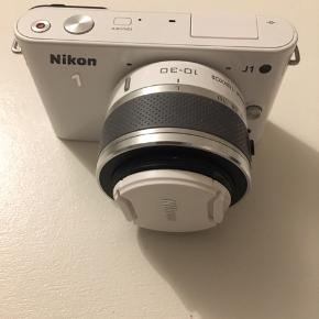 Nikon 1 J1 10.1 MP Digital Camera  White (Kit w/ VR 10-30mm Lens)