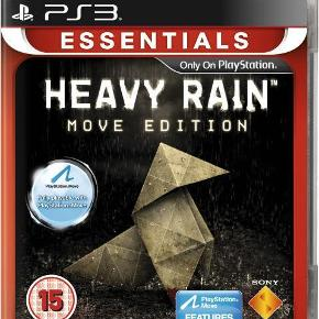 Varetype: NY Heavy Rain Move EditionStørrelse: - Farve: - Kvittering haves.  NY Heavy Rain Move Edition.  Vores søn kom ved en fejl til at tage filmen af den, og derfor kunne den ikke byttes.......! Vi har derfor en i overskud.  Mindsteprisen er kr. 150+porto.  Jeg bytte ikke.