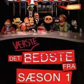 3571 - Gepetto News: Det værste fra  sæson 1 (DVD)  Dansk Tale - NY Film er ny men er  ikke folie