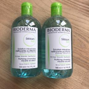 Helt nye og uåbnede Bioderma Sébium makeupfjerner / rensevand.  Mindst holdbar til juli 2021.  Afhentningspris er 175,-   Prisen er fast.   1 flaske sælge for 100,-