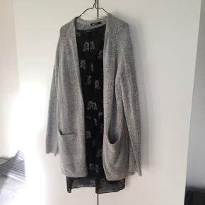 Gina Tricot grey long cardigan. Used but in perfect condition