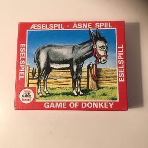 Æsel kortspil med vejledning  Donkey Som nyt   Sender gerne   Se flere spil vi har til salg