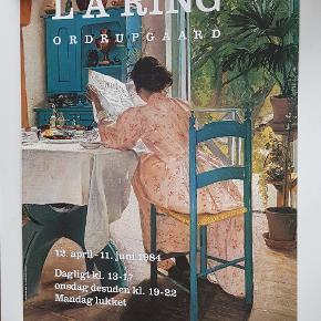 Plakat fra en udstilling på Ordrupgaard Motivet er af LA Ring  Måler 62 x 84,5 cm  Jeg sælger ud af min families store samling af plakater, der er samlet over mange år  Alle plakater er kun til afhentning på Teglholmen