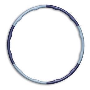 Trænings hulahopring til træning af mavemuskler. 2,2 kg og er i farven grå/blå. Sælges da jeg ikke bruger den længere