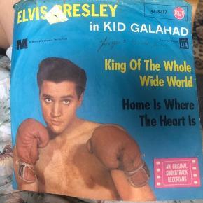 100 kr Elvis Presley vinyl fra 1962