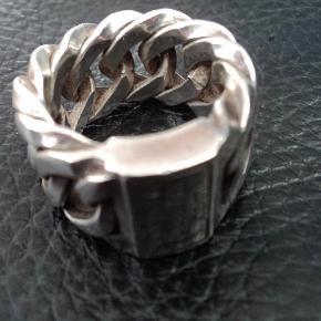 Fed ring, som ny, købt i Amsterdam. Brand: Buddha to buddha Fed ring, sølv, st. 57, 500+ Størrelse: 57