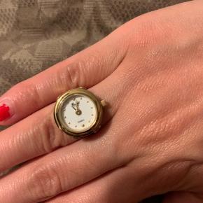 Forgyldt ur-ring