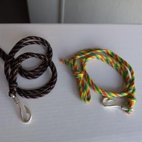Armbånd til herrer/kvinder. 2 forskellige farver.  Pris pr. stk. 15,- (+9,- porto).