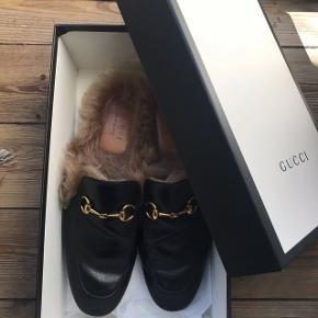 Gucci Princetown loafers str. 43 brugt 3-4 gange.