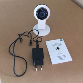 Kamera tyveri eller husdyr pleje hvis man vil være sikker på de er ok når man er ude. Helt nyt til computer og telefon