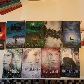 Jeg har en kæmpe bunke engelske bøger, mange af dem fra samme serie.  Bøgerne er i top tilstand.  Jeg sælger bøgerne for 20kr stykket.  De sendes med dao eller kan hentes efter aftale
