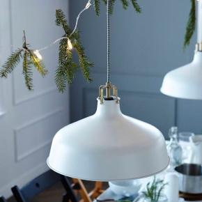 Ranarp loftlampe fra Ikea 23 cm i diameter