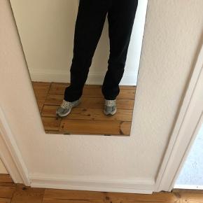 "Fede højtaljede wrangler mom ""jeans"" i bomuld. W31L32"