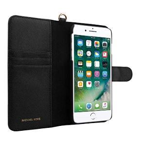 Michael Kors Saffiano Leather Wallet Case for Iphone 6/6S.   Sælges fordi jeg har skiftet til Samsung mobil. Nypris 1.500 kr. Mp. 455 kr. Sat så langt ned jeg kan.
