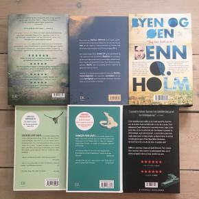OBS! Blækhat er solgt! 🌻 Forskellige romaner.  Alle er hardback-udgaver.  I perfekt stand.  40 kr. pr. stk.  150 kr. for alle fem :) Afhentes ved Christmas Møllers Plads.