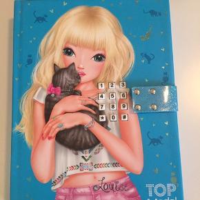 Fin Top Model dagbog  Mp 50kr