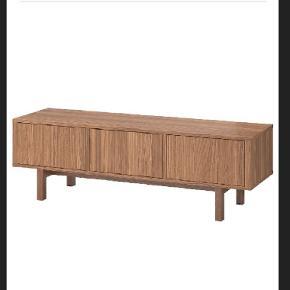 TV bord i valnødtræ 160x40x50