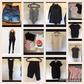 Ventetøj fra mamalicious og H&M: ventejakke, shorts, ventebadedragt, ventetoppe og andet. Sælger både samlet og for sig.  Byd 😊😊