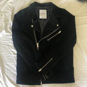 Jack & Jones skind- & læderjakke