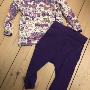 Bukser + bluse