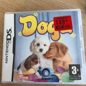 Dogz Nintendo DS spil Kun prøvet én gang, stadig med prismærke på