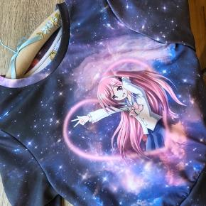 Anime sweater, aldrig brugt 🍒