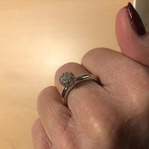 Super fin ring fra Ti Sento, str.58 Nypris 850,-