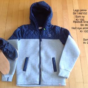 1b0ecb784e0 Lego lækker jakke str 146/152 kr 150 Reebok Sneakers str 36 - aldrig brugt
