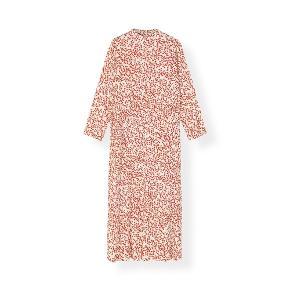 Sælger min fine kjole Ganni. Str 34 (jeg svinger mellem 36-38 og passer den), så den passer flere str. Været på 2 gange og standen er som ny. Ny pris var 1500,-. Også rigtig fin med jeans under f.eks.  #trendsalesfund