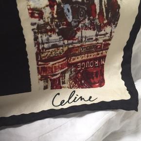 Celine silketørklæde. 86 x 86 cm. Super fin stand. Pris 300,-pp Bytter ikke.