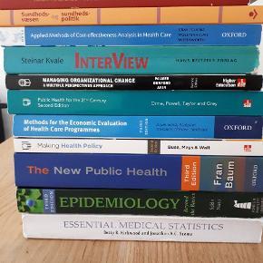 Folkesundhedsvidenskab:Ingen overstregninger. Ved køb af flere stor rabat.