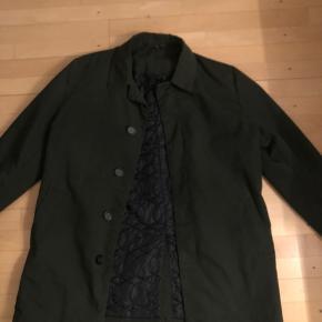 Lækker frakke fra raw appereal brugt 1 gang købt i forkert str.
