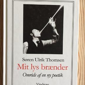 Søren Ulrik Thomsen. Mit lys brænder. Omrids af en ny poetik.