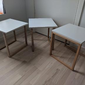 3 in 1 table, approx. 40x40x40 cm each