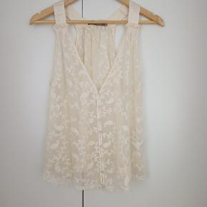 Gustav silk top. Size 38
