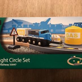 Nyt BRIO Railway 33047 / Circle Freight Set - uåbnet.   Mp 75pp