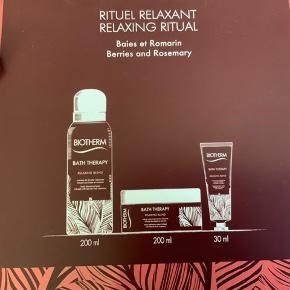 Biotherm Hudplejesæt - Bath Therapy Relaxing Ritual - 3 Dele. Nyt i æske. Sender gerne på købers regning