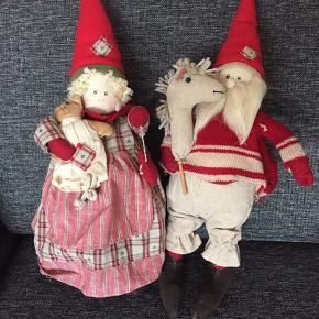 Nissepar 40 cm høje Brugt 1 jul Røg og dyrefrit hjem