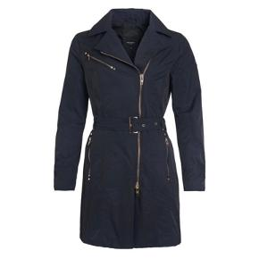 Rock and blue trenchcoat