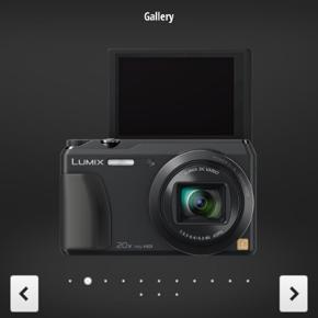 Overvejer at sælge mit Panasonic Lumix DMC-TZ55 hvis det rigtige bud kommer :)