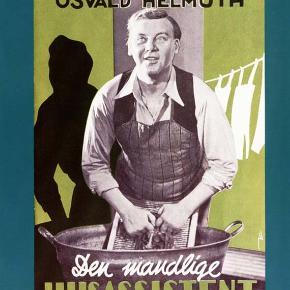 0170 - Den mandlige husassistent (DVD)  Dansk Film - I FOLIE   Den mandlige husassistent  På Cafe Firkløver gør tjener Thomas Hansen (Osvald Helmuth) sit bedste for at hygge om stamkunderne. Blandt andet den ensomme Birkhøj, der er kommet til at holde meget af den venlige tjener gennem årene. Da Hansen fortæller, at han kun mangler 10.000 kroner i at realisere sin drøm om at blive hotelejer, tilbyder Birkhøj at låne ham pengene. Det bliver starten på Hansens livs eventyr.  Tekst fra pressemateriale