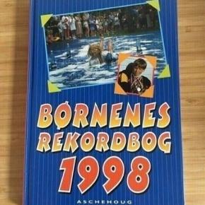 Børnenes rekordbog 1998  - fast pris -køb 4 annoncer og den billigste er gratis - kan afhentes på Mimersgade 111 - sender gerne hvis du betaler Porto - mødes ikke andre steder - bytter ikke