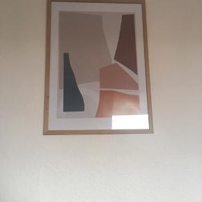 Sælger plakat uden ramme, 50x70 cm