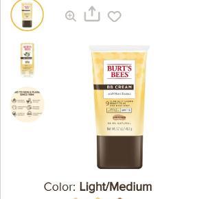 Burt's Bees makeup