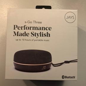 Helt ny lille smart højtaler fra Jays.. Aldrig brugt - kun åbnet for at se den rigtigt..  Kom gerne med bud.