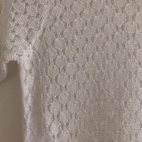 Superfin bluse i hvid i viscose