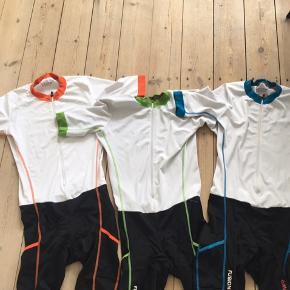 Fusion Triathlon tøj - Speedsuite str M , brugt 1-2 gange 350kr stk   - Speed top med lommer bagpå str xl (lille i str) aldrig brugt 250kr  - Tri power tight med lommer str s, aldrig brugt 300kr
