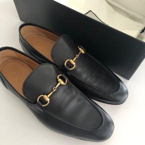Gucci Jordaan leather loafer ny pris 4.450kr Aldrig brugt!
